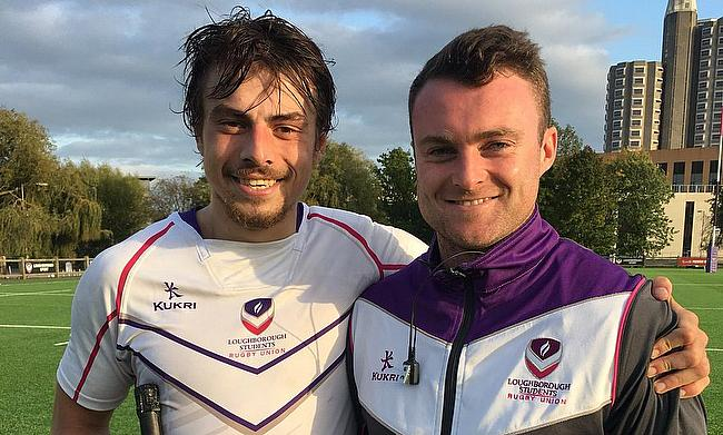 Oskar Hirskyj-Douglas excited by new challenge with Loughborough