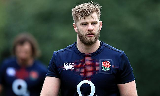George Kruis and England insist they maintained their professionalism in a training session with Wales