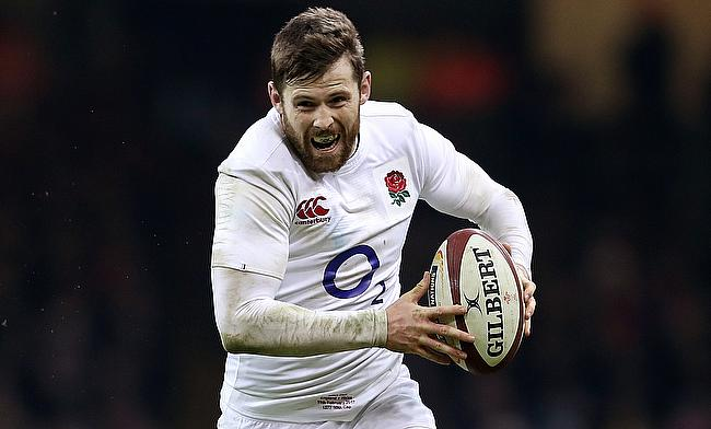 England's Elliot Daly has been nicknamed Lazarus by his team-mates