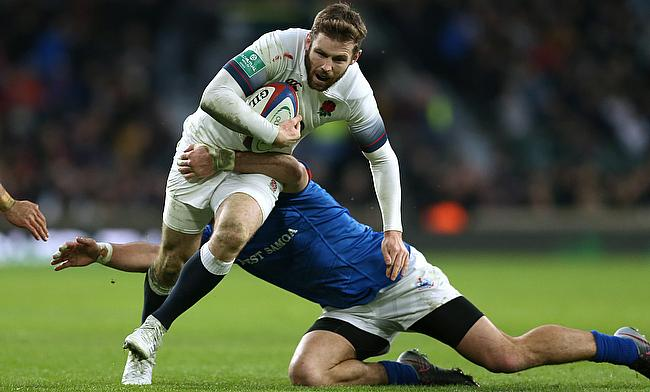 Elliot Daly scored two tries in England's win against Samoa