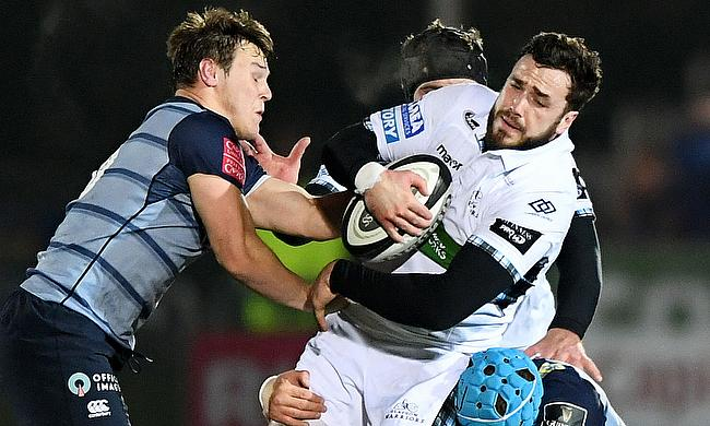 Glasgow Warriors power past Cardiff Blues 40 - 16