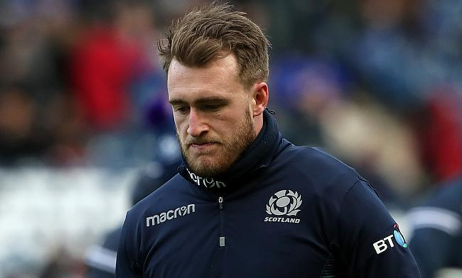 Scotland's Stuart Hogg has not featured for club or country since the autumn clash with Australia