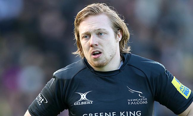 Joel Hodgson contributed with 18 points for Newcastle Falcons