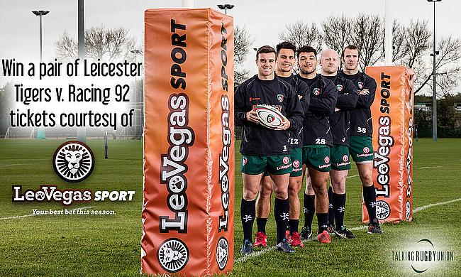 Win a pair of Leicester Tigers v. Racing 92 tickets