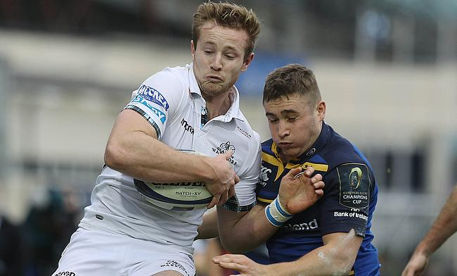Leinster youngster Jordan Larmour, right, has won his first call-up to Ireland's senior ranks for this year's Six Nations tournament