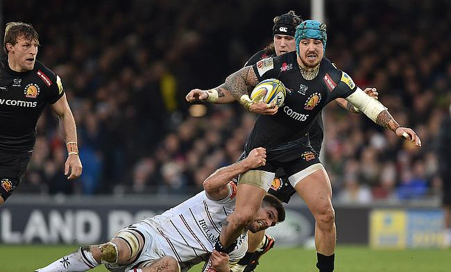 Exeter flyer Jack Nowell could be deployed in the centres for the first time by England in the Six Nations