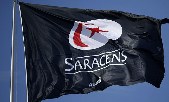 Saracens registered their first win in this season's Anglo-Welsh Cup