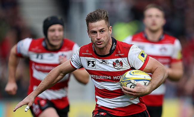 Henry Trinder scored two tries for Gloucester