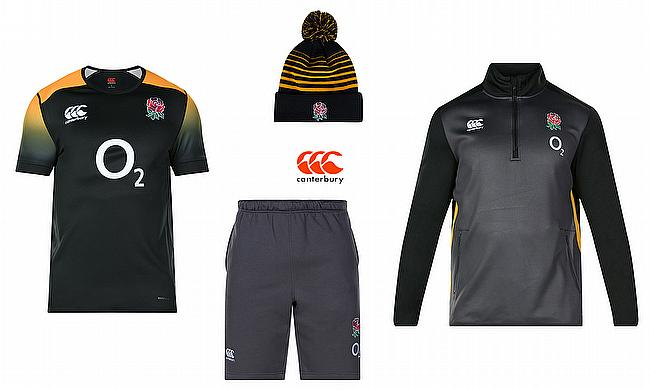 Canterbury unveils the new England Rugby 2018 S/S range