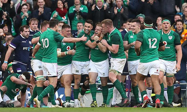 Stockdale double inspires Ireland to bonus-point win (Round 4)