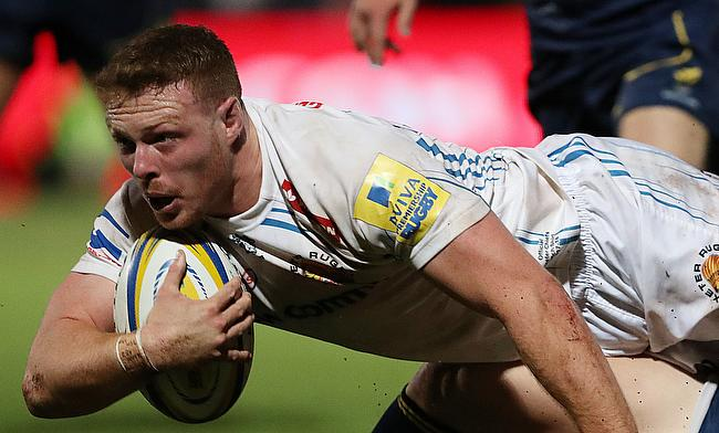 Sam Simmonds was outstanding for Exeter on Sunday