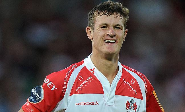 Billy Burns was one of the try-scorer for Gloucester