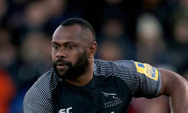 Vereniki Goneva scored a double for Newcastle Falcons