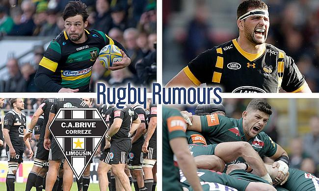 Ben Foden, Matt Symons, Mike Williams and Brive