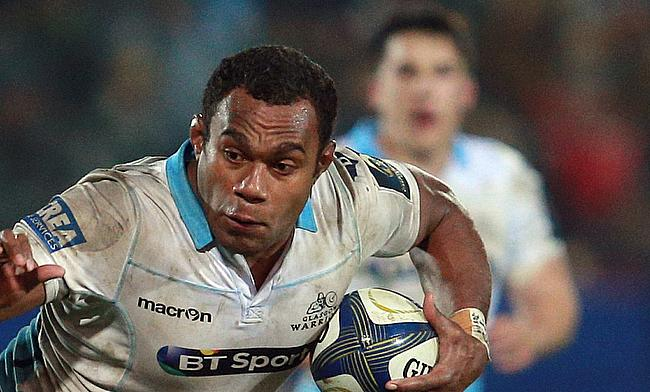 Leone Nakarawa in action while representing Glasgow Warriors previously