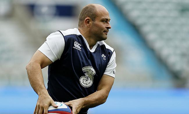 Rory Best suffered a hamstring injury in training