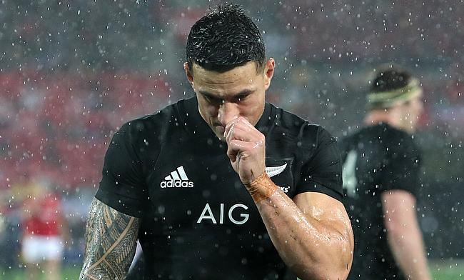 Sonny Bill Williams ended on the losing side