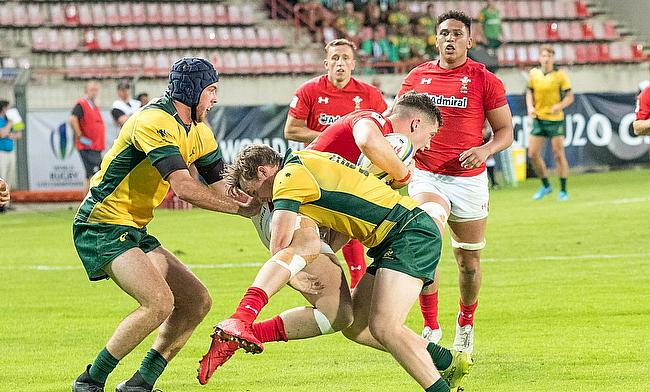 Wales edged Australia 26-21 on day one of the World Rugby U20 Championship 2018
