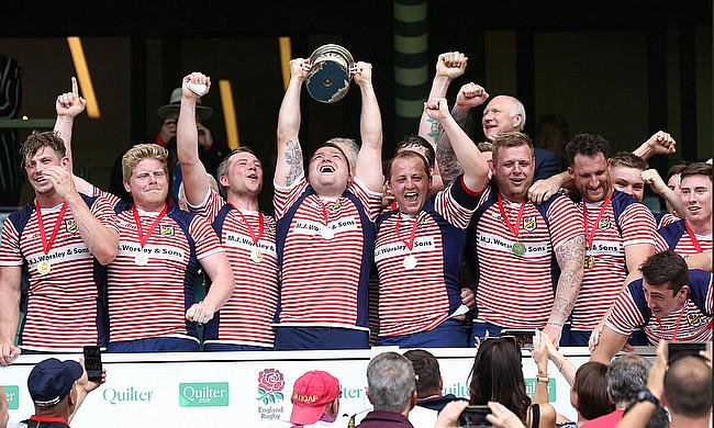 Lancashire beat Hertfordshire 32-16 in the Bill Beaumont County Championship Final