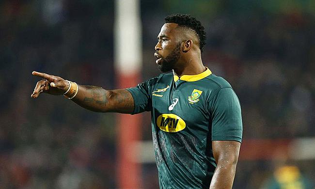 Siya Kolisi captained his side to victory against England