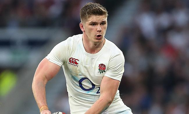 Owen Farrell contributed with 20 points