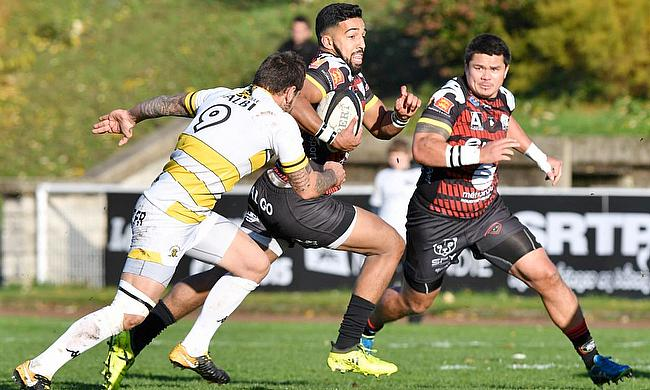 Zack Henry in action for Rouen, but now he is set to write a new chapter in France