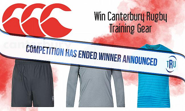 Win Canterbury Rugby Training Gear