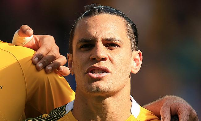 Matt Toomua kicked three conversions during the trial game on Friday