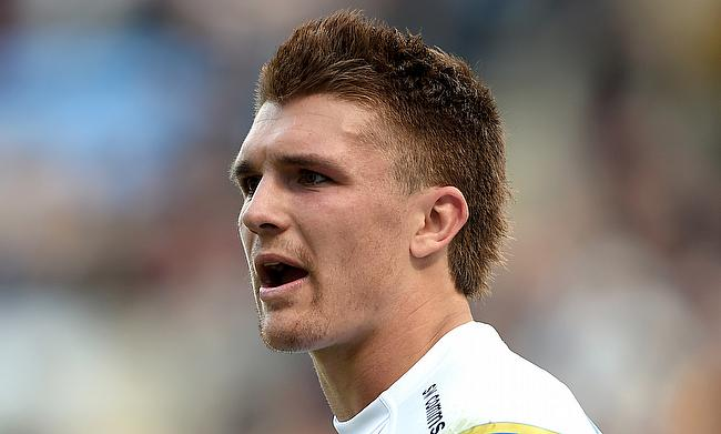 Henry Slade scored two tries for Exeter Chiefs