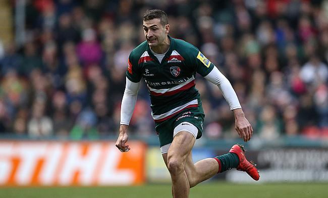 Jonny May scored two first half tries for Leicester Tigers