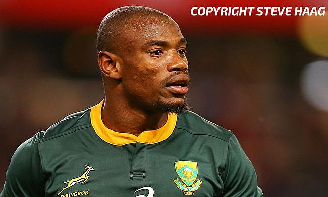 Makazole Mapimpi has played four Tests for South Africa