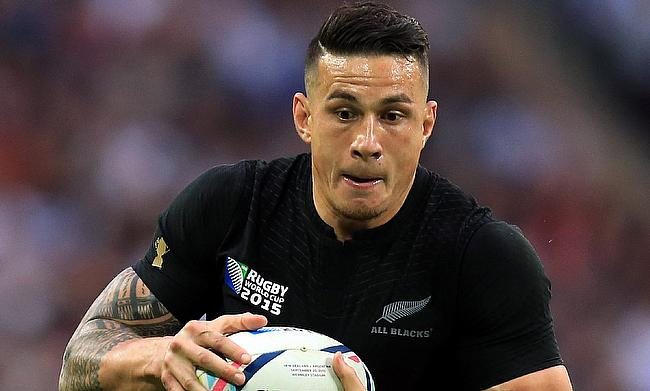 Sonny Bill Williams has played 50 Tests for New Zealand