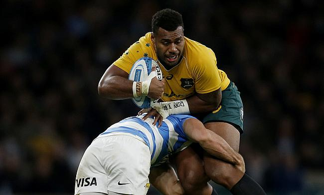 Samu Kerevi (right) has played 22 Tests for Australia