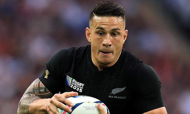 Sonny Bill Williams also missed the game against Ireland
