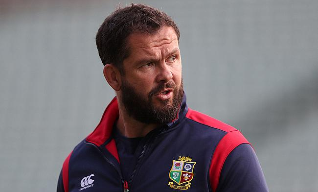Andy Farrell was appointed as defence coach of Ireland in 2016
