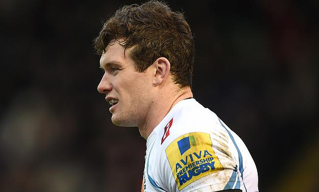 Ian Whitten's last gasp try went in vain for Exeter