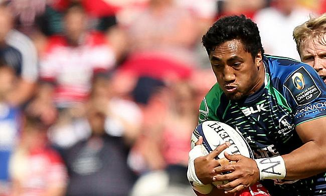 Bundee Aki was one of the try-scorer for Ulster