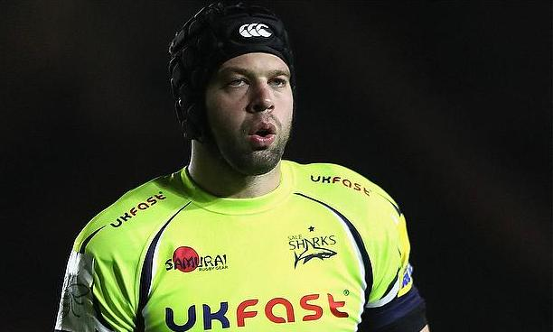 Josh Beaumont has made 103 senior appearances for Sale Sharks