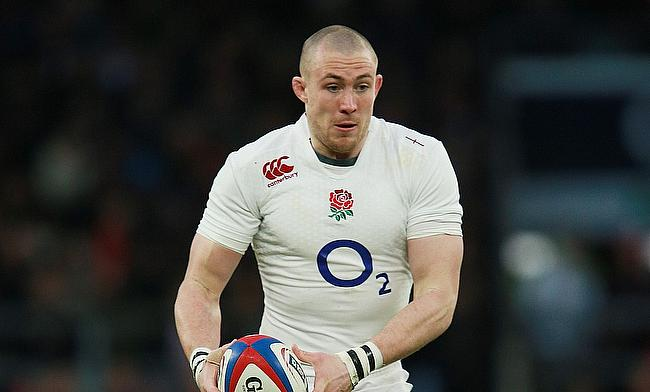 Mike Brown was left out of England's autumn international series last year