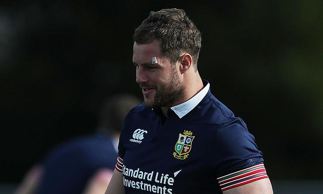 Allan Dell was selected in 2017 British and Irish Lions squad for tour of New Zealand