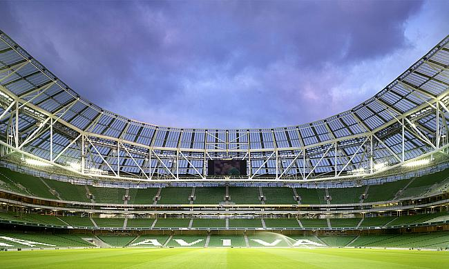 The Aviva Stadium plays host to Ireland v England this Saturday