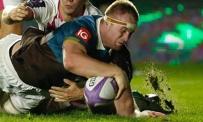 James Chisholm has been with Harlequins since 2013