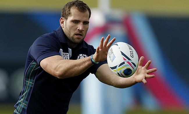 Fraser Brown has played 38 Tests for Scotland