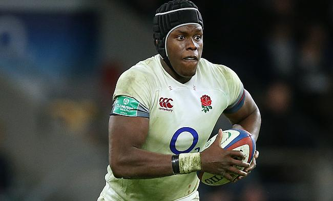Maro Itoje suffered a knee injury during the game against Ireland