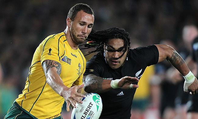Super Rugby: Quade Cooper shines as Melbourne Rebels upset Brumbies in tryfest