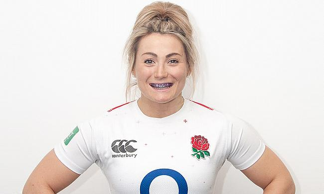 England rugby star and World Cup winner, Vicky Fleetwood