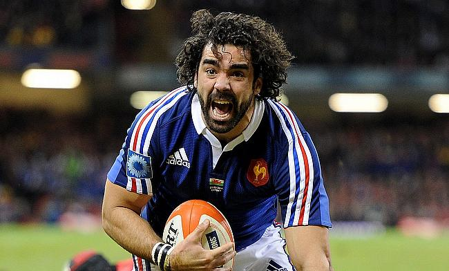 Yoann Huget scored the second try for France