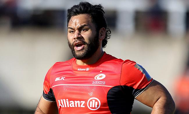 Billy Vunipola was one of the try-scorer for Saracens