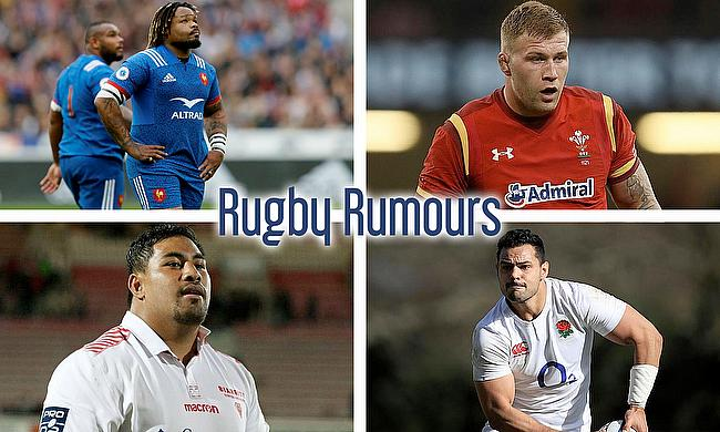 Mathieu Bastareaud, Ross Moriarty, Ben Te'o and Nephi Leatigaga