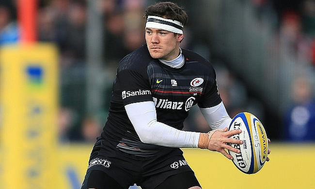 Alex Goode becomes the third Saracens player to win the award